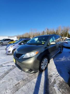 2011 Toyota Sienna for sale at Jeff's Sales & Service in Presque Isle ME