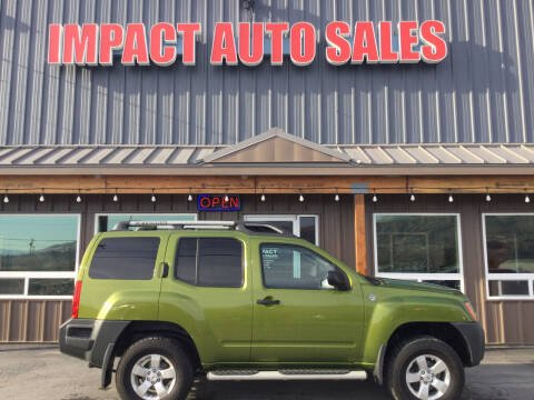 2012 Nissan Xterra for sale at Impact Auto Sales in Wenatchee WA