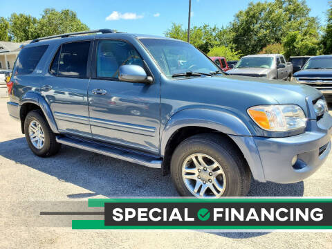 2006 Toyota Sequoia for sale at Rodgers Enterprises in North Charleston SC