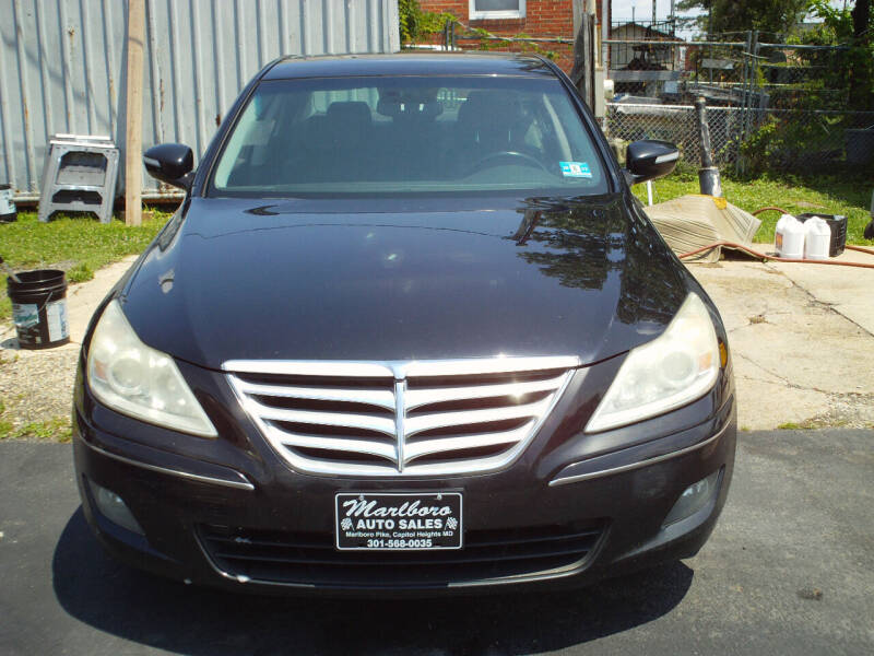 2009 Hyundai Genesis for sale at Marlboro Auto Sales in Capitol Heights MD
