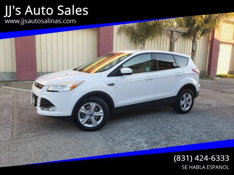 2013 Ford Escape for sale at JJ's Auto Sales in Salinas CA