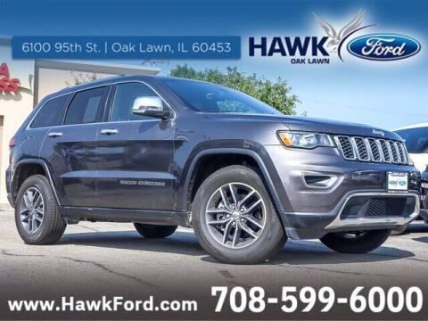 2018 Jeep Grand Cherokee for sale at Hawk Ford of Oak Lawn in Oak Lawn IL
