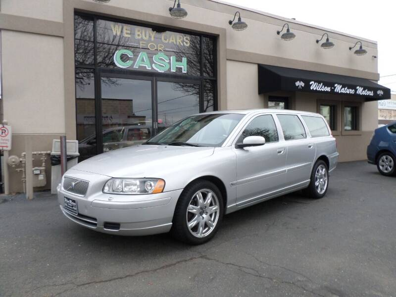 2006 Volvo V70 for sale at Wilson-Maturo Motors in New Haven CT
