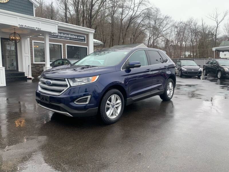2016 Ford Edge for sale at Ocean State Auto Sales in Johnston RI