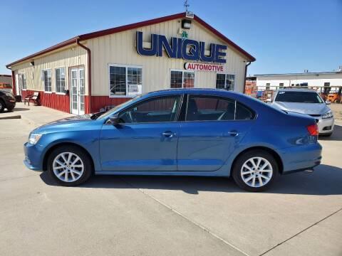 "2015 Volkswagen Jetta for sale at UNIQUE AUTOMOTIVE ""BE UNIQUE"" in Garden City KS"