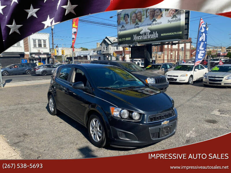 2015 Chevrolet Sonic for sale at Impressive Auto Sales in Philadelphia PA