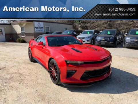 2017 Chevrolet Camaro for sale at American Motors, Inc. in Farmington MN