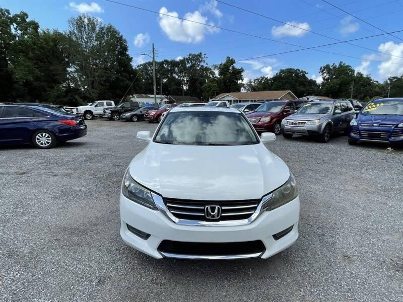 2015 Honda Accord for sale at THE COLISEUM MOTORS in Pensacola FL