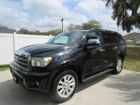 2011 Toyota Sequoia for sale at D & R Auto Brokers in Ridgeland SC
