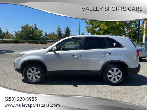 2013 Kia Sorento for sale at Valley Sports Cars in Des Moines WA