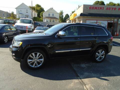 2013 Jeep Grand Cherokee for sale at Gemini Auto Sales in Providence RI