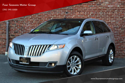 2014 Lincoln MKX for sale at Four Seasons Motor Group in Swampscott MA