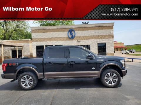 2015 Ford F-150 for sale at Wilborn Motor Co in Fort Worth TX