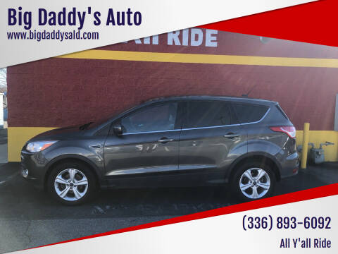2016 Ford Escape for sale at Big Daddy's Auto in Winston-Salem NC
