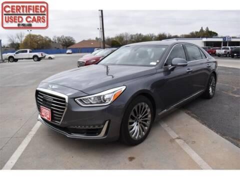 2017 Genesis G90 for sale at South Plains Autoplex by RANDY BUCHANAN in Lubbock TX