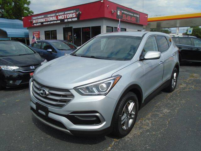2017 Hyundai Santa Fe Sport for sale at International Motors in Laurel MD