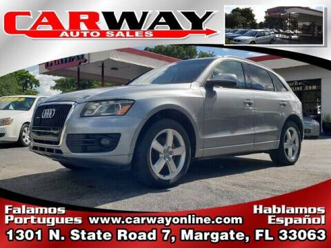 2010 Audi Q5 for sale at CARWAY Auto Sales in Margate FL