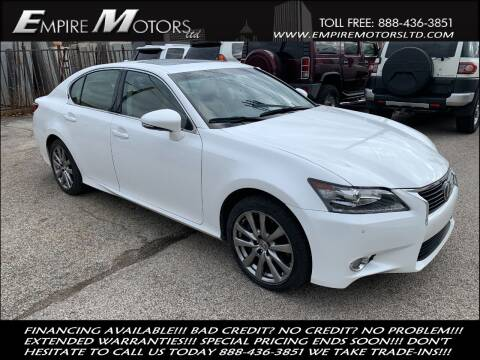 2015 Lexus GS 350 for sale at Empire Motors LTD in Cleveland OH