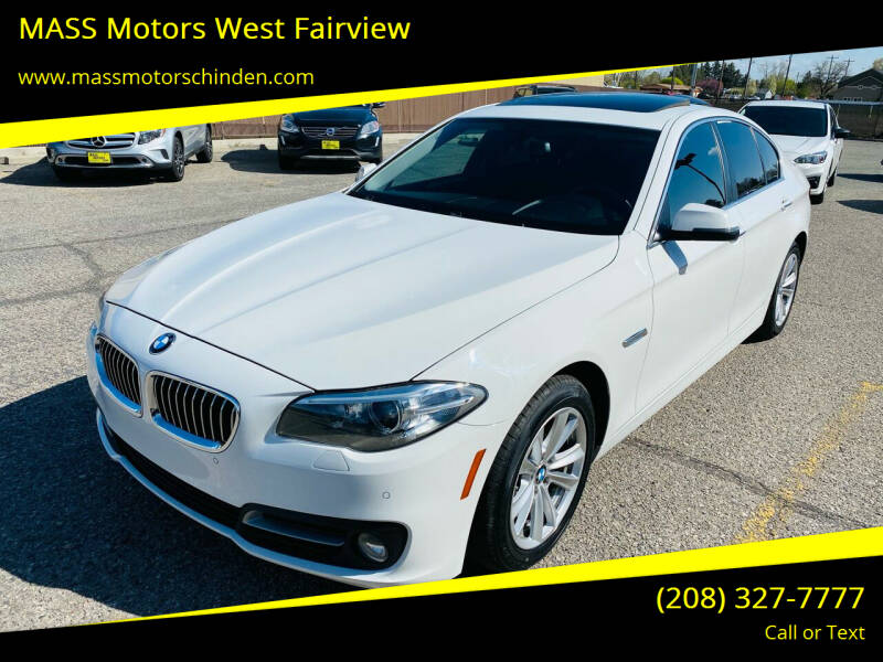 2015 BMW 5 Series for sale at M.A.S.S. Motors - West Fairview in Boise ID