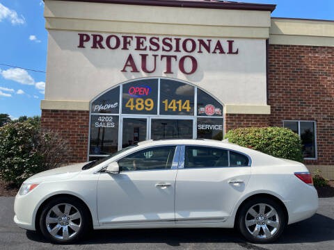 2010 Buick LaCrosse for sale at Professional Auto Sales & Service in Fort Wayne IN