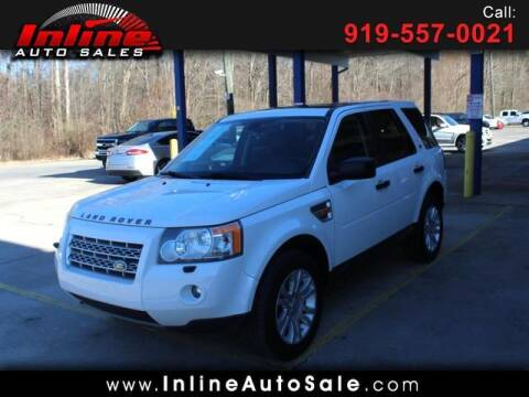 2008 Land Rover LR2 for sale at Inline Auto Sales in Fuquay Varina NC