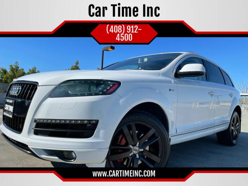2014 Audi Q7 for sale at Car Time Inc in San Jose CA