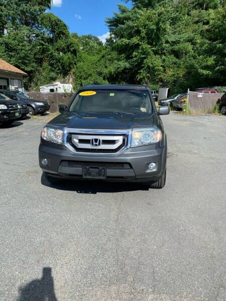 2009 Honda Pilot for sale at ALAN SCOTT AUTO REPAIR in Brattleboro VT