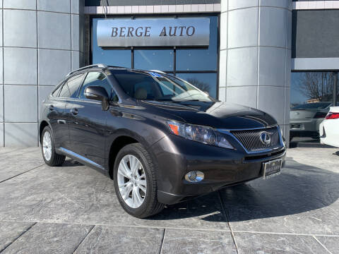 2010 Lexus RX 450h for sale at Berge Auto in Orem UT