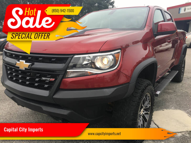 2017 Chevrolet Colorado for sale at Capital City Imports in Tallahassee FL