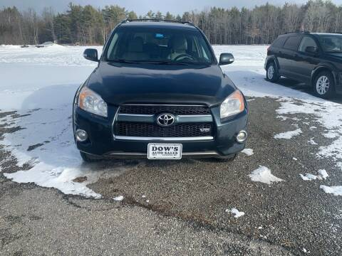 2011 Toyota RAV4 for sale at DOW'S AUTO SALES in Palmyra ME