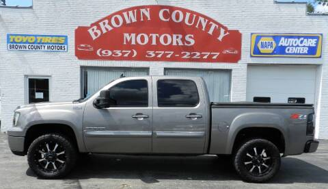 2013 GMC Sierra 1500 for sale at Brown County Motors in Russellville OH