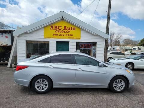 2013 Hyundai Sonata for sale at ABC AUTO CLINIC - Chubbuck in Chubbuck ID