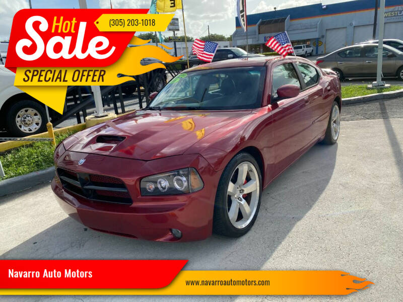 2006 Dodge Charger for sale at Navarro Auto Motors in Hialeah FL