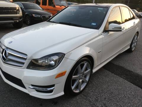 2012 Mercedes-Benz C-Class for sale at Highlands Luxury Cars, Inc. in Marietta GA