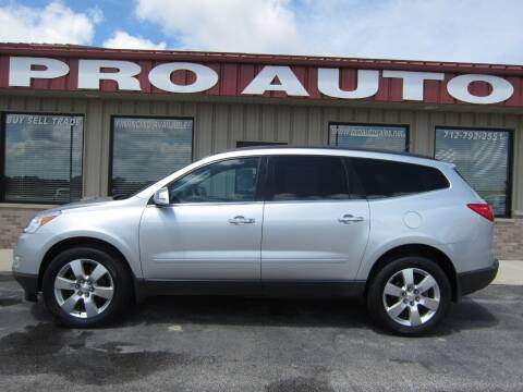 2014 Chevrolet Traverse for sale at Pro Auto Sales in Carroll IA