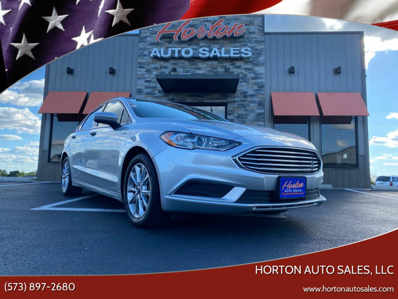 2017 Ford Fusion for sale at HORTON AUTO SALES, LLC in Linn MO