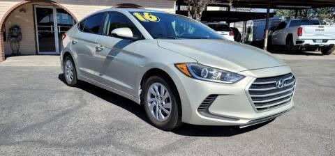 2017 Hyundai Elantra for sale at FRANCIA MOTORS in El Paso TX
