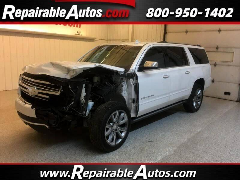 2017 Chevrolet Suburban for sale at Ken's Auto in Strasburg ND