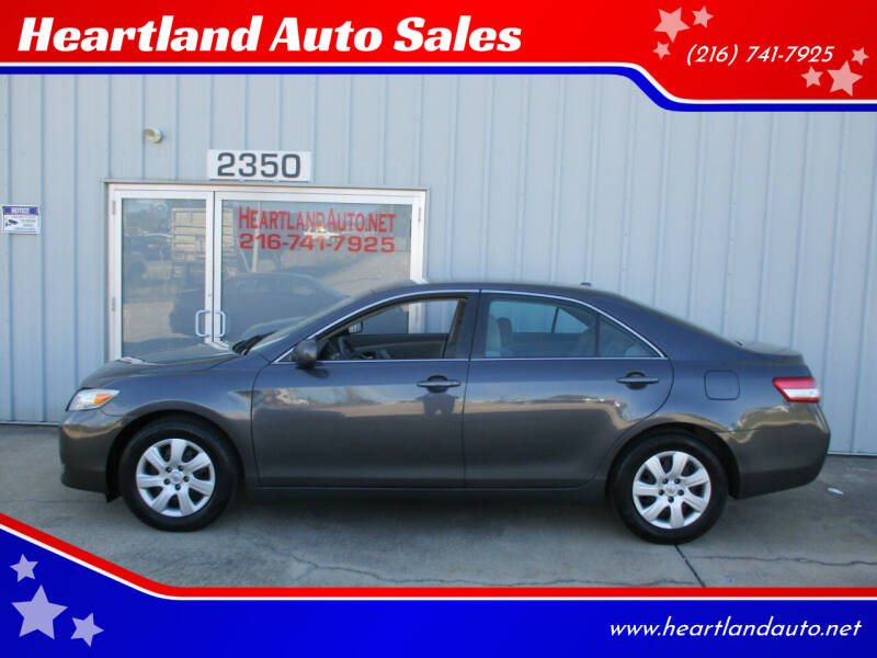 2010 Toyota Camry for sale at Heartland Auto Sales in Medina OH