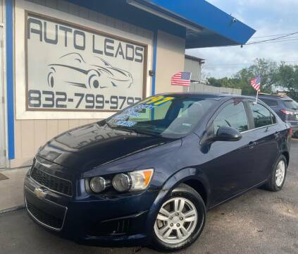2016 Chevrolet Sonic for sale at AUTO LEADS in Pasadena TX