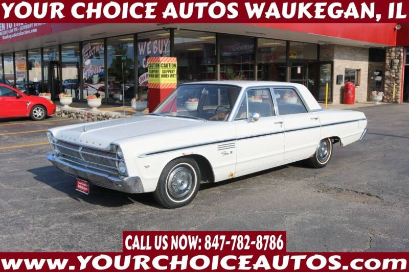 1965 Plymouth Fury for sale at Your Choice Autos - Waukegan in Waukegan IL