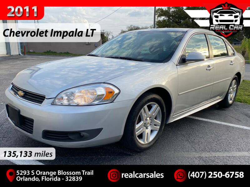 2011 Chevrolet Impala for sale at Real Car Sales in Orlando FL