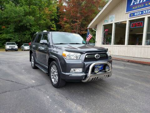2013 Toyota 4Runner for sale at Fairway Auto Sales in Rochester NH
