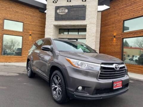 2016 Toyota Highlander for sale at Hamilton Motors in Lehi UT