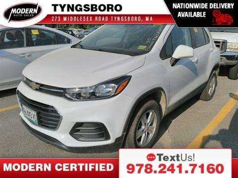 2018 Chevrolet Trax for sale at Modern Auto Sales in Tyngsboro MA