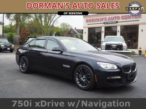 2015 BMW 7 Series for sale at DORMANS AUTO CENTER OF SEEKONK in Seekonk MA