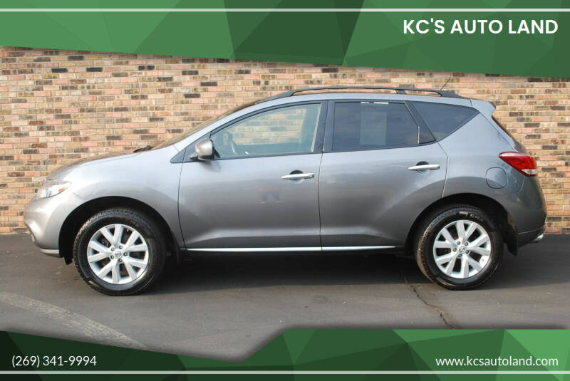 2013 Nissan Murano for sale at KC'S Auto Land in Kalamazoo MI