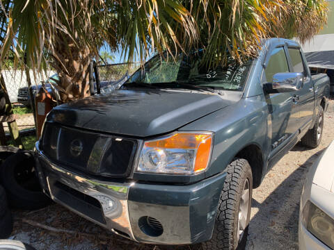 2005 Nissan Titan for sale at DREAM CARS in Stuart FL