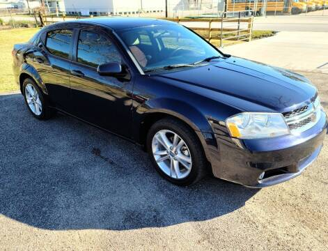 2011 Dodge Avenger for sale at MG Autohaus in New Caney TX