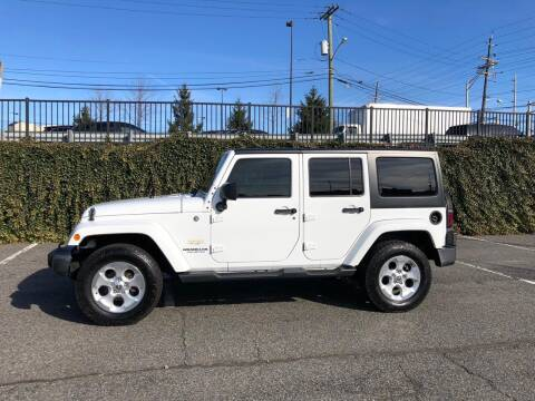 2015 Jeep Wrangler Unlimited for sale at JG Auto Sales in North Bergen NJ